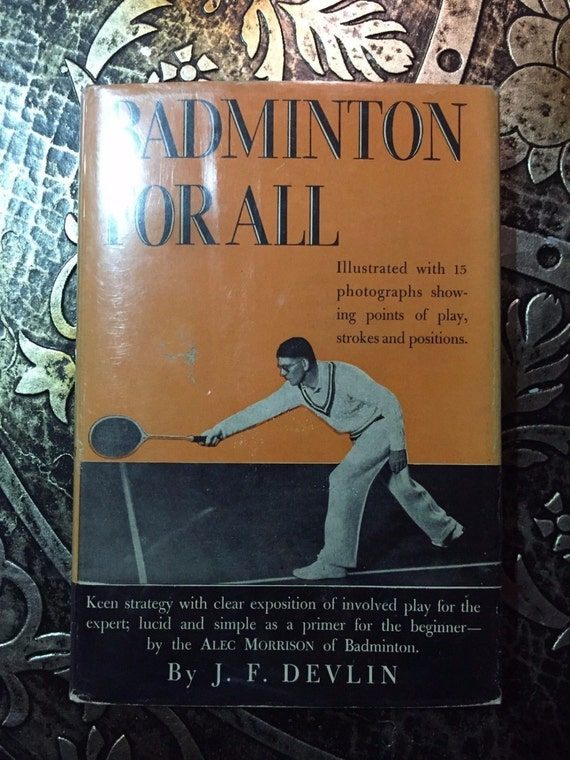 Badminton for All, Signed...
