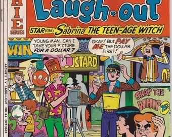 Archie Comic Series No  44, Cat# 06975 Nov 1976 Archie's T.V. Laugh-out