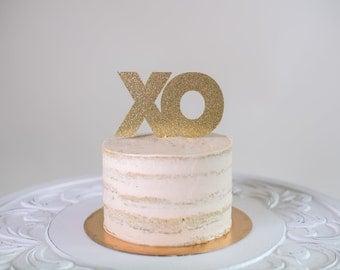 XO Cake Topper for Wedding/Valentine's Day