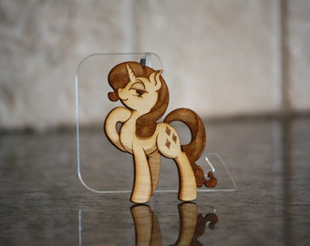 Mini Wood Laser Cut - NekoCrispy's Rarity