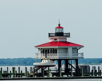 Choptank River Lighthouse in Cambridge, MD