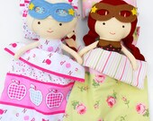 DOLLS BEDDING, doll bedding set, doll duvet, pillow doll, 18inch doll bed set, doll comforter, AG doll bedding, sensory toy, superhero doll