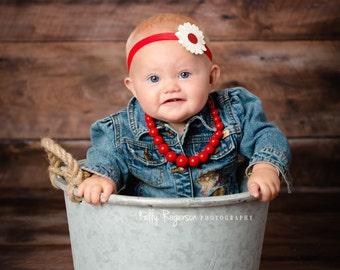 Daisy Flower Headband| Baby Headband| Your Choice Color Daisy