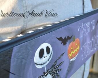 The Nightmare Before Christmas - Pallet Wood - Jack Skellington - Wood - Sign - Upcycled Pallet Wall Art -Jack Skellington Collector Item