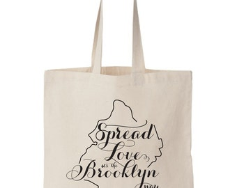 Brooklyn NY, Wedding Welcome Tote Bag