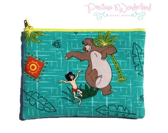 The Jungle Book Cosmetic / Makeup / Pencil Bag