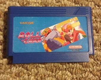 Roll Chan Custom Famicom 8bit Game. Mega Man Hack!