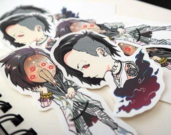 Tokyo Ghoul Uta Vinyl Stickers
