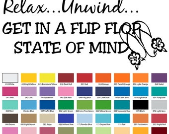 Relax…Unwind…Get in A Flip Flop state of mind