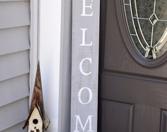 Welcome Sign; Farmhouse Sign; Porch Sign