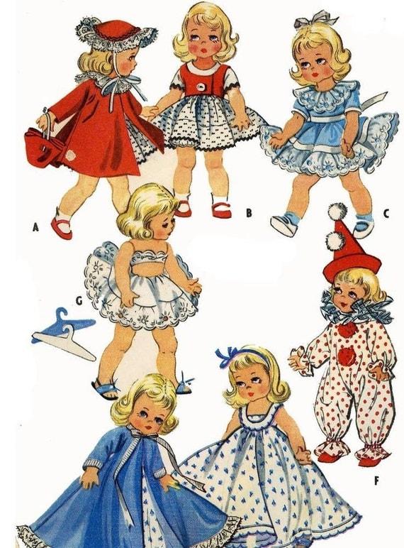 Instant Download Pdf Vintage Sewing Pattern To Make Ginny