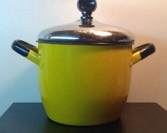 Vintage Chartreuse Polish Pot