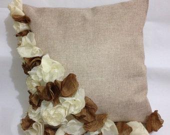 Vintage Floral DecorativeThrow Pillow