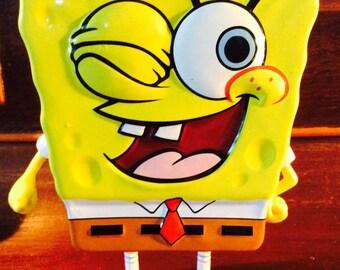 Sponge bob tin box