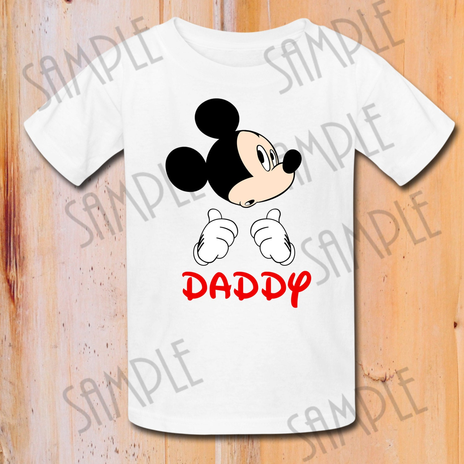 Design your own t-shirt iron on transfer - T Shirt Disney Mickey Mouse Iron On Transfer Printable Daddy Digital Download Personalized Mickey Birthday Shirt Matching Family Shirts