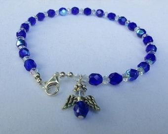 Royals Blue Anklet