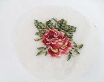 Vintage Petit point embroidery - vignette