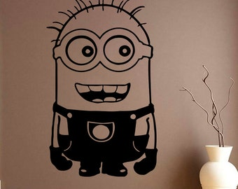 Minions Selfie Wall Decal Despicable Me Movie Wall Decal - Minion wall decals