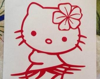 Hello Kitty Hula Dancer - Hawaiian HK - HK Hula