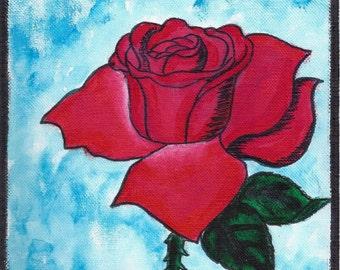 La Rosa Hand Painted