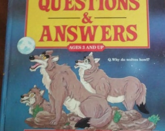 More Big Book of Questions & Answers Children's Book  Large Illustrated