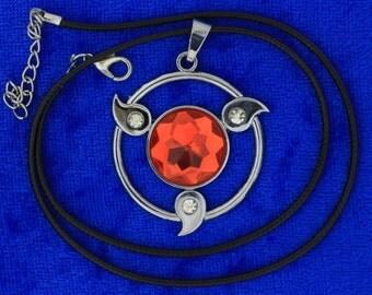 Naruto Sharingan Necklace Anime CosPlay
