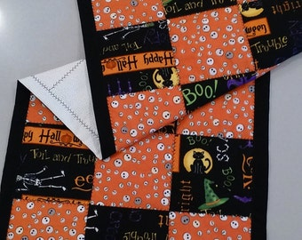 Halloween Checkerboard Table Runner  FREE SHIPPING1