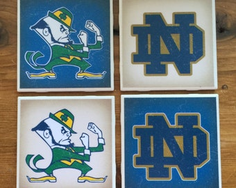 Notre Dame Fighting Irish Coasters