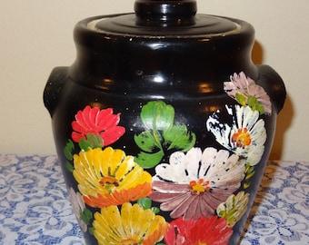 Ransburg hand painted Cookie Jar
