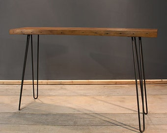 Occasional / Hallway Table, Handmade Contemporary Rustic (The Dern)