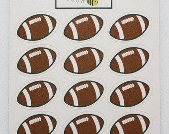 Rugby/American Football Stickers