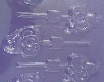 BOO! Chocolate Ghost Candy Mold