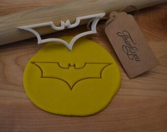 Batman: The Dark Knight Logo Cookie Cutter - 3D Printed Cookie Cutter