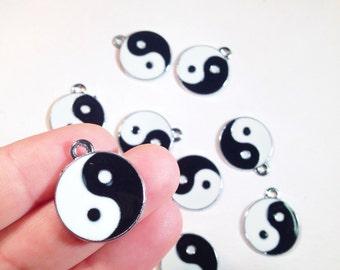 Yin Yang Charm. Yin Yang Charms. 5 charms