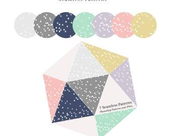Mini Triangles Pattern Pack
