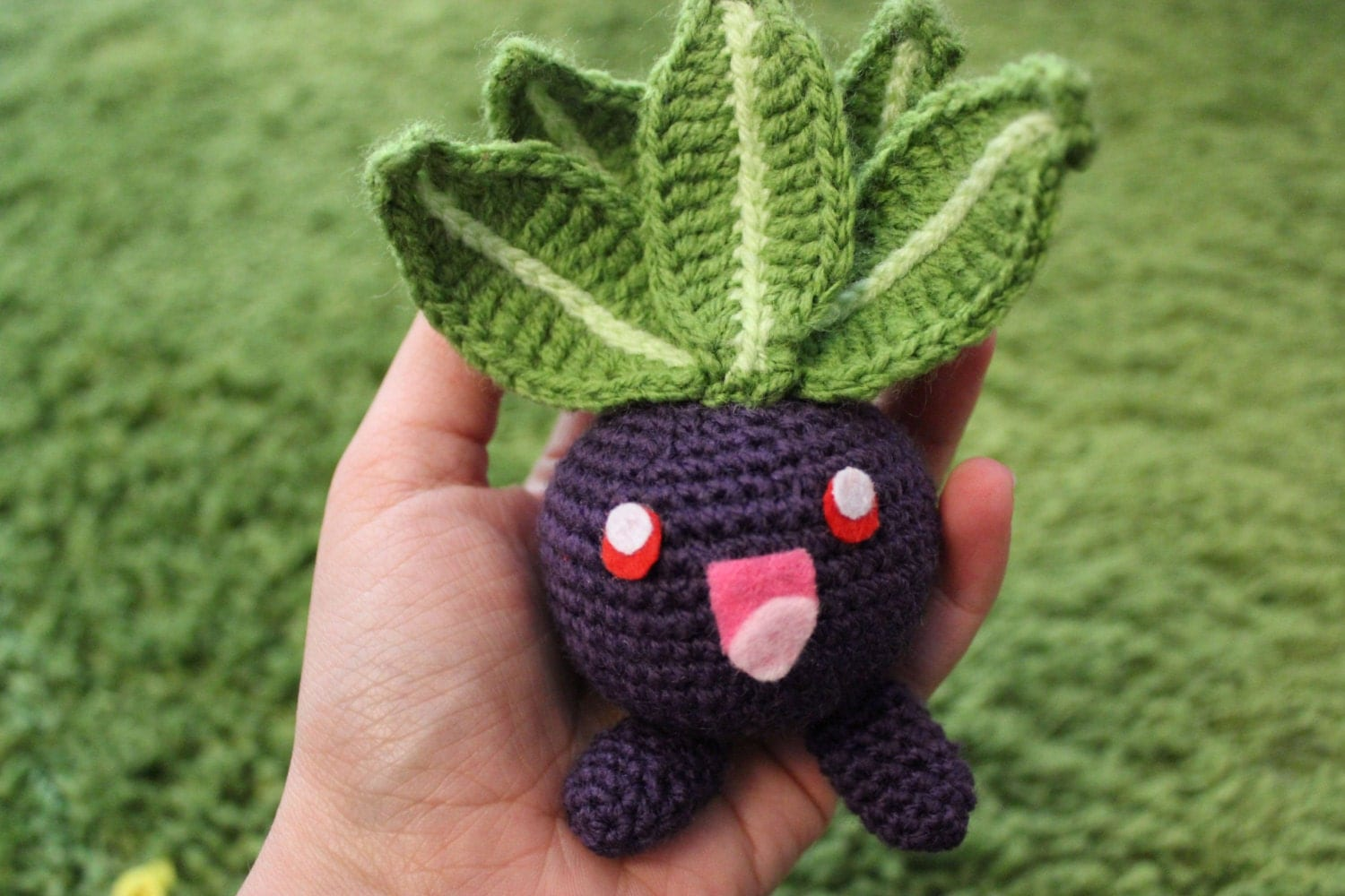 Oddish Pokemon Amigurumi Cute Chibi Kawaii by ...