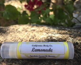 Lemonade Lip Balm Handmade Natural