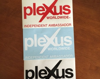 """Plexus Worldwide Independent Ambassador """"Compliance Approved"""" Decal in Various Sizes"""