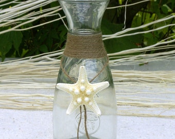 Maritime Wine Carafe Starfish