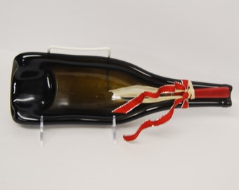 BOTTLE ART  with serving knife
