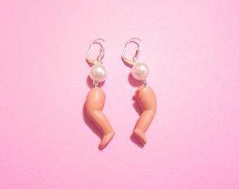 Doll Legs earrings