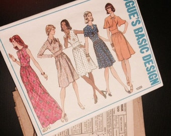 Vogue Basic Design Pattern - 1029 - 1970s