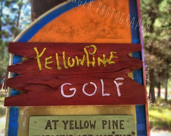 Photo of Yellow Pine Golf Course Sign