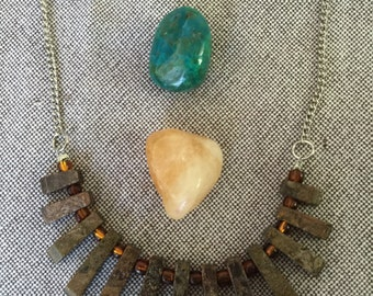 SALE: Stone Tribe necklace