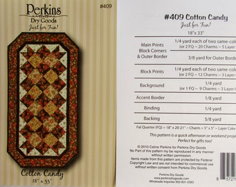 "Perkins Dry Goods - Just For Fun! ~ ""Cotton Candy""  #409"