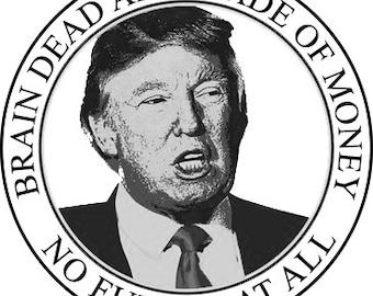 AC/DC Trump Phish Sticker 10 Pack is Back