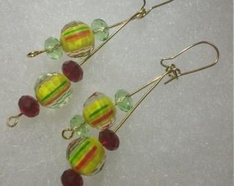 Earrings- Jamaica Vacation Double Dangles II