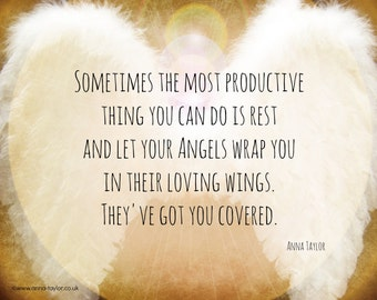 ANGEL WINGS MAGNET by Anna Grace Taylor