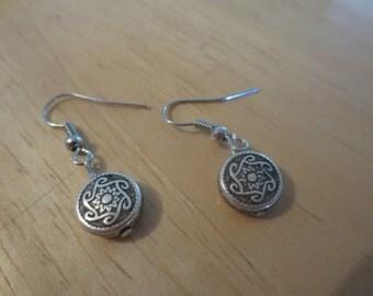 Celtic Design Silver Earrings