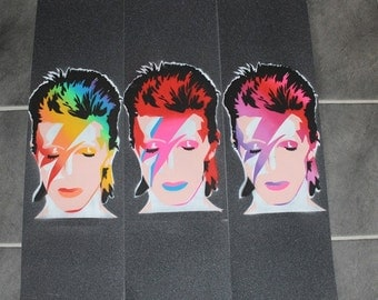 Bowie inspired Aladinsane style grip tape
